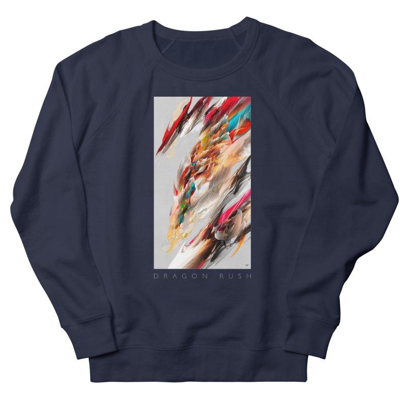 DRAGON RUSH Women's Sweatshirt by mu's Artist Shop