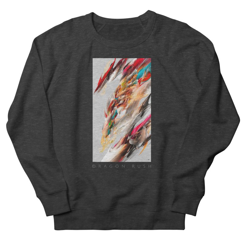 DRAGON RUSH Men's Sweatshirt by mu's Artist Shop