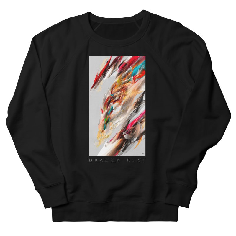 DRAGON RUSH Men's Sweatshirt by mu's Artist Shop