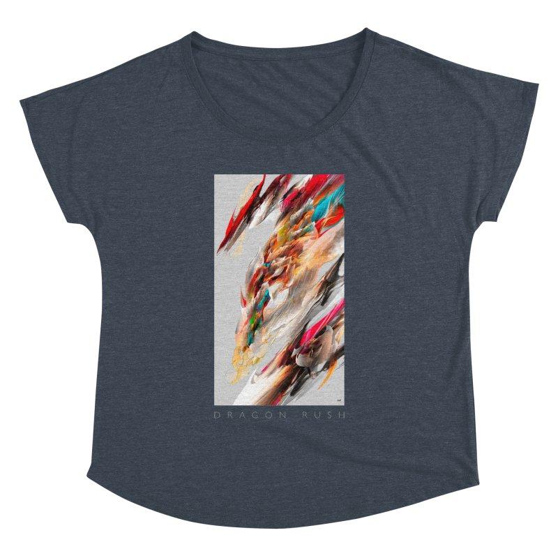 DRAGON RUSH Women's Dolman by mu's Artist Shop