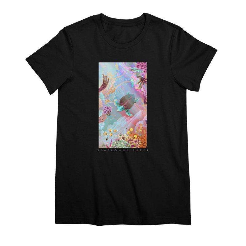 SEAFLOWER REEFS Women's Premium T-Shirt by mu's Artist Shop