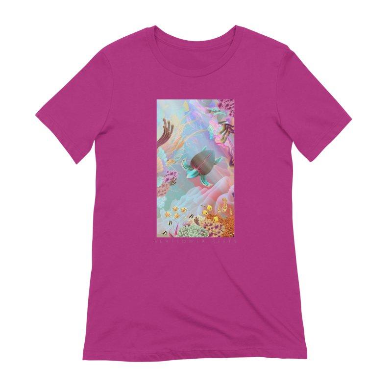 SEAFLOWER REEFS Women's Extra Soft T-Shirt by mu's Artist Shop