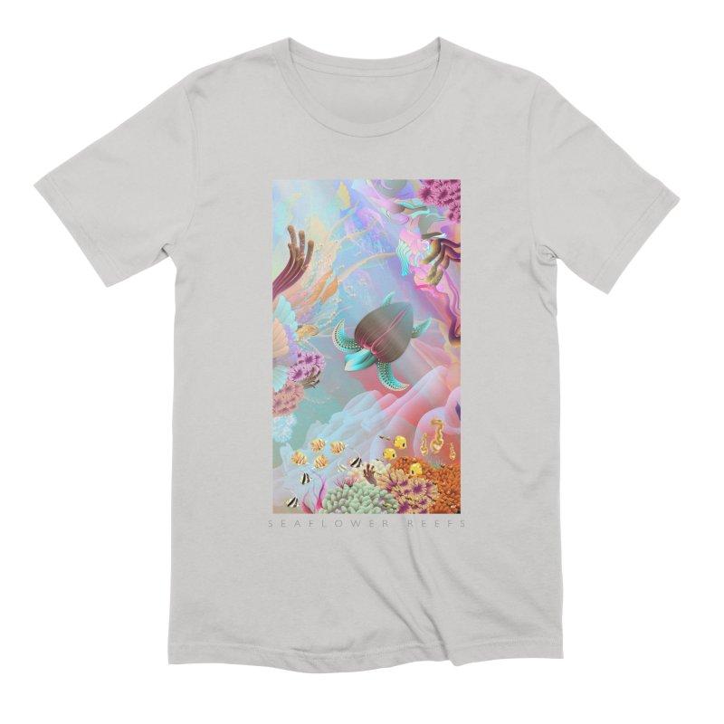 SEAFLOWER REEFS Men's Extra Soft T-Shirt by mu's Artist Shop
