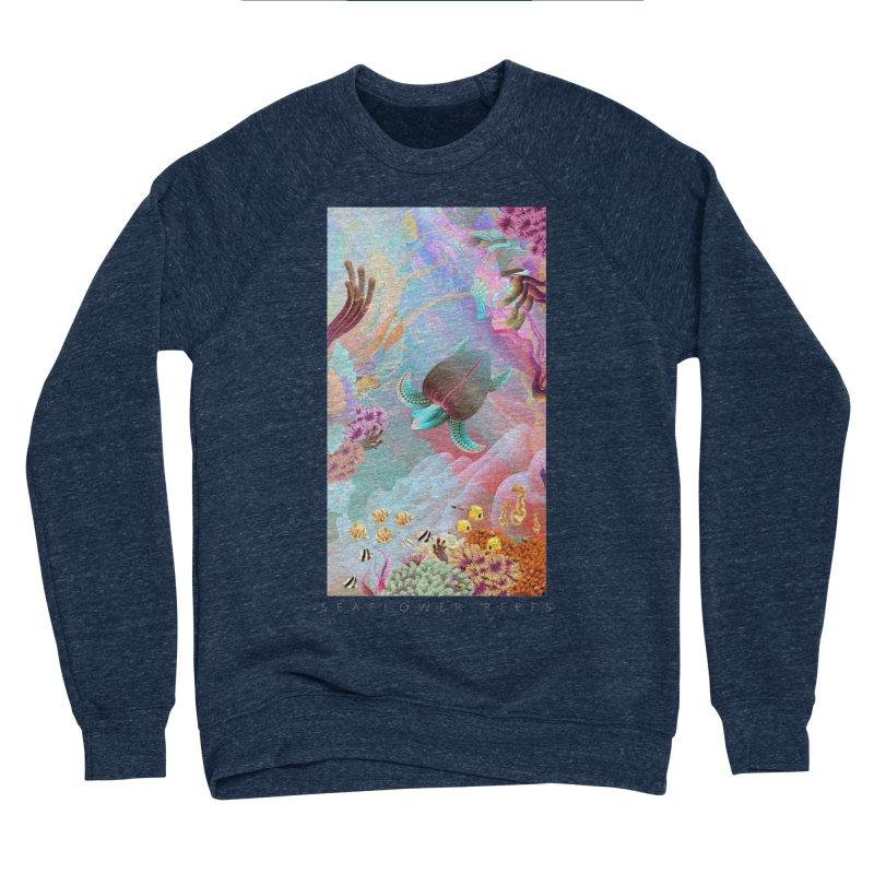 SEAFLOWER REEFS Men's Sponge Fleece Sweatshirt by mu's Artist Shop