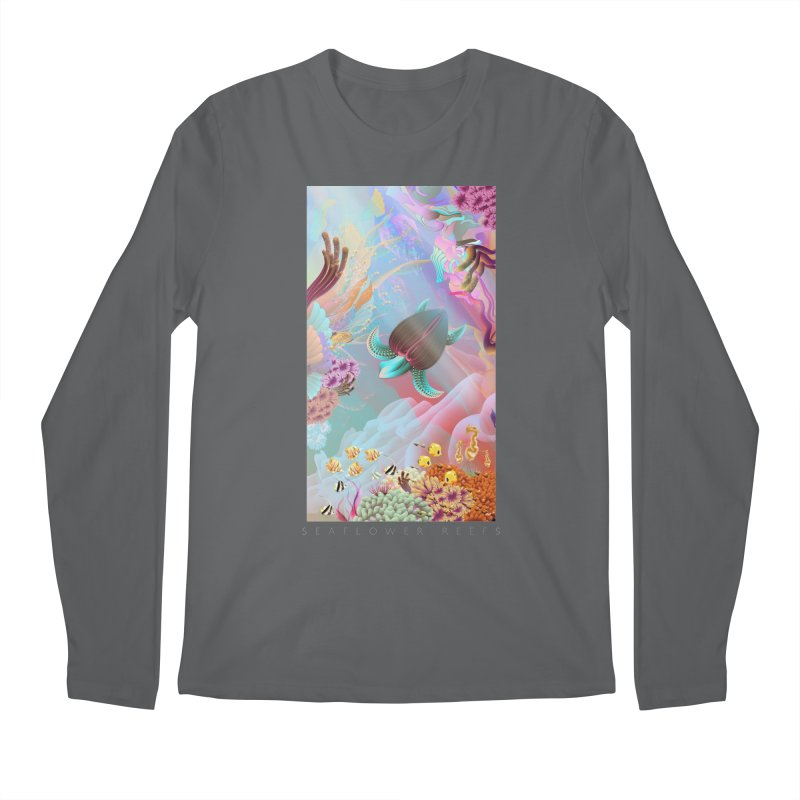 SEAFLOWER REEFS Men's Longsleeve T-Shirt by mu's Artist Shop