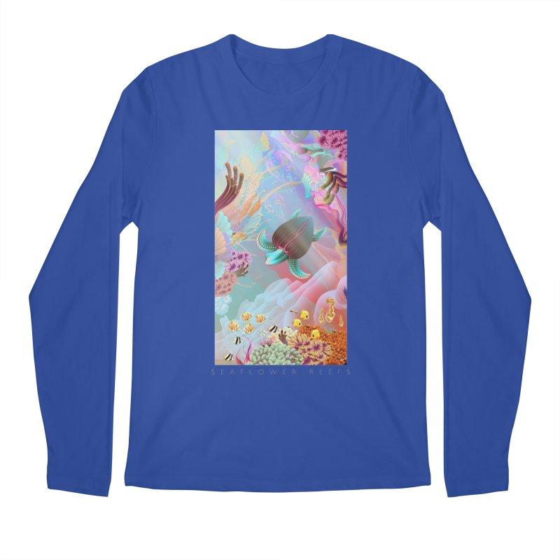 SEAFLOWER REEFS Men's Longsleeve T-Shirt by mu's Artist Shop