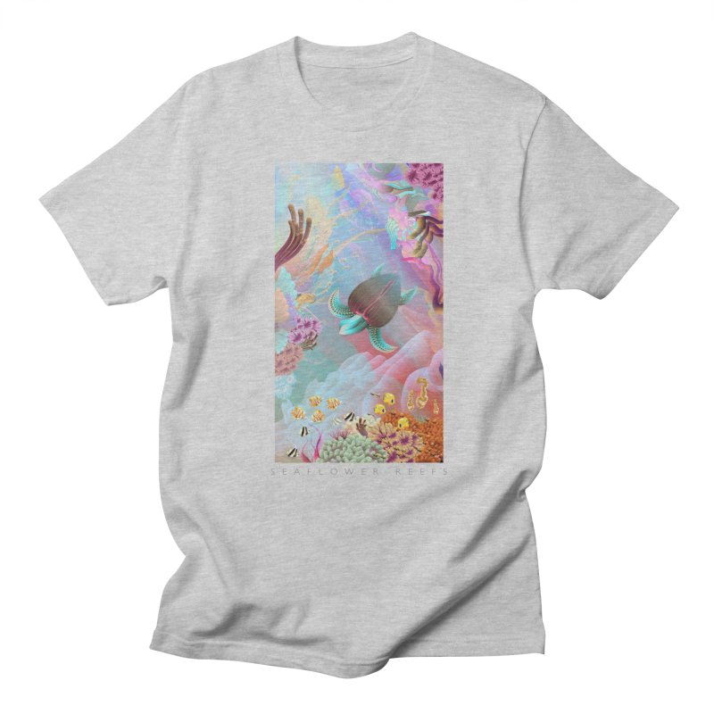 SEAFLOWER REEFS Men's T-Shirt by mu's Artist Shop