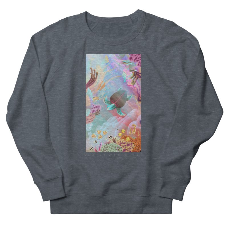 SEAFLOWER REEFS Women's Sweatshirt by mu's Artist Shop