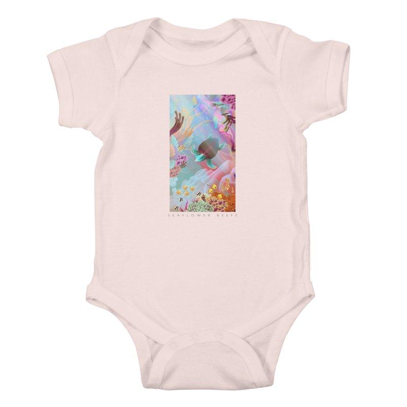 SEAFLOWER REEFS Kids Baby Bodysuit by mu's Artist Shop