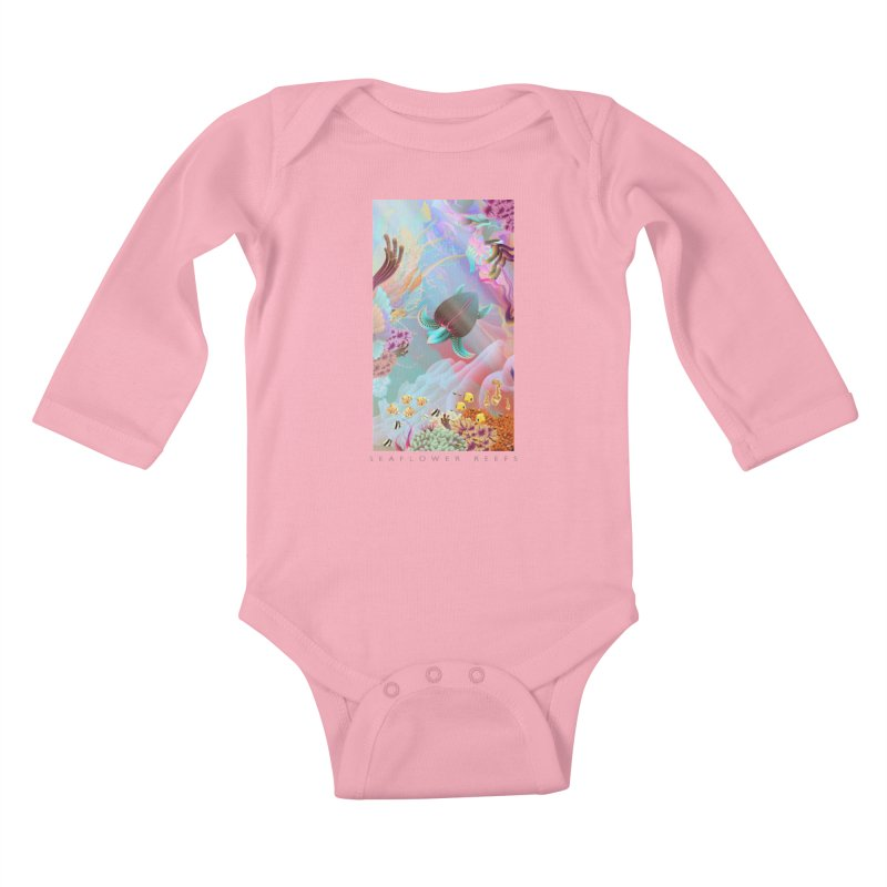 SEAFLOWER REEFS Kids Baby Longsleeve Bodysuit by mu's Artist Shop