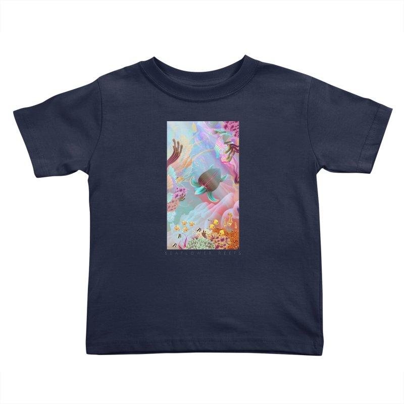 SEAFLOWER REEFS Kids Toddler T-Shirt by mu's Artist Shop