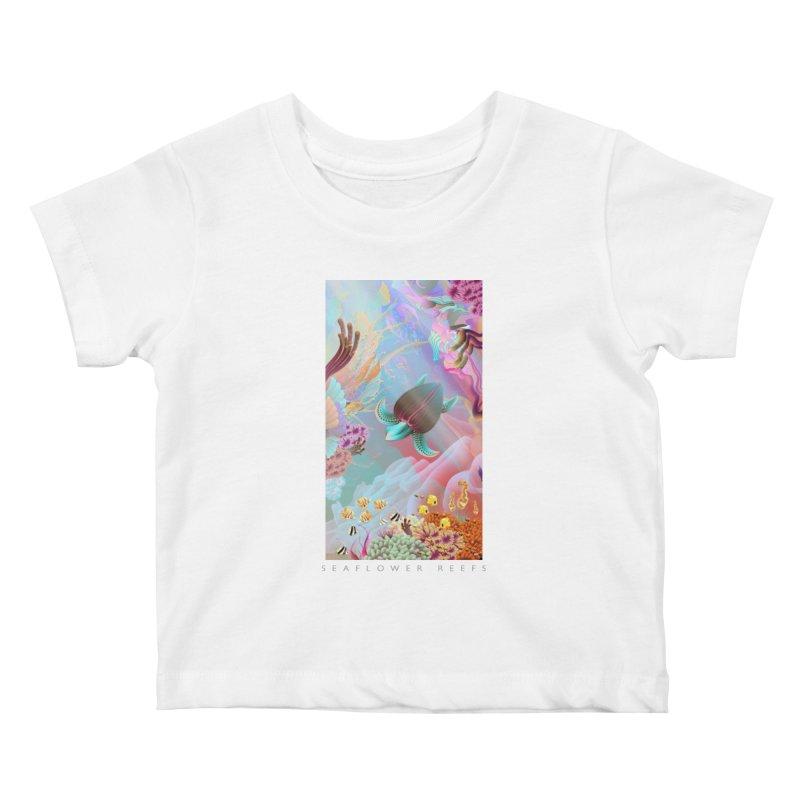 SEAFLOWER REEFS Kids Baby T-Shirt by mu's Artist Shop