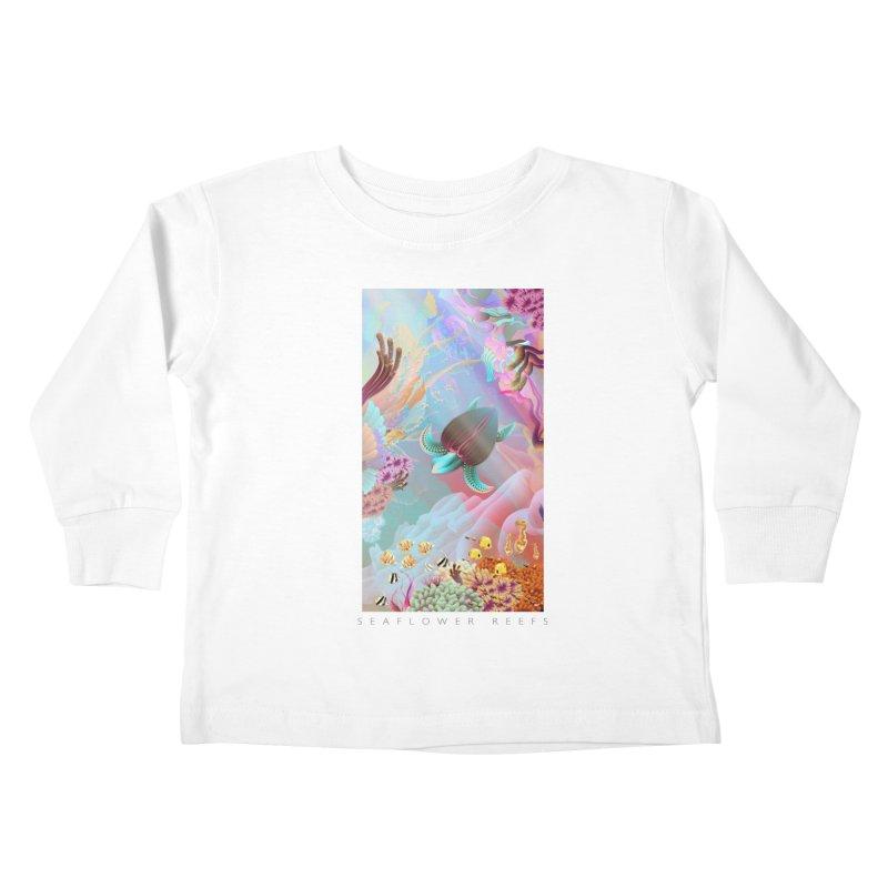 SEAFLOWER REEFS Kids Toddler Longsleeve T-Shirt by mu's Artist Shop