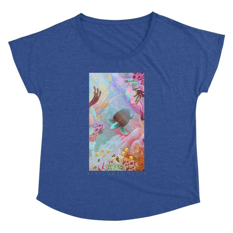 SEAFLOWER REEFS Women's Dolman by mu's Artist Shop