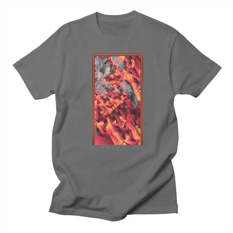 SUMMER FIRES Men's T-Shirt by mu's Artist Shop