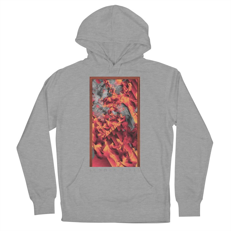SUMMER FIRES Women's French Terry Pullover Hoody by mu's Artist Shop