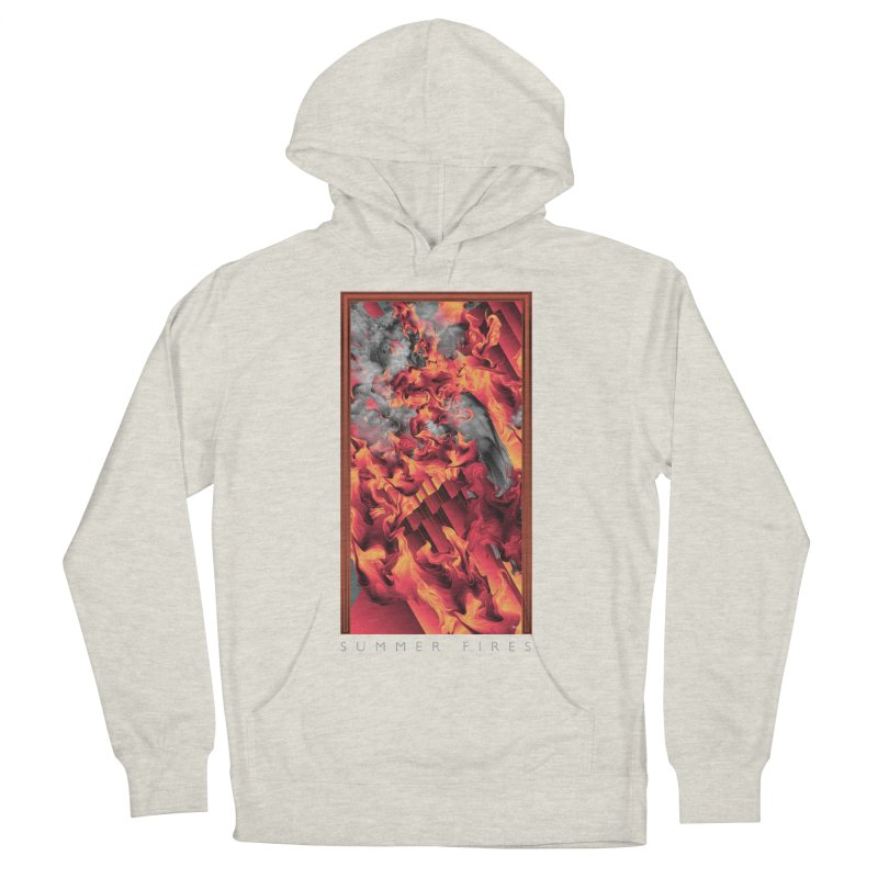 SUMMER FIRES Men's Pullover Hoody by mu's Artist Shop
