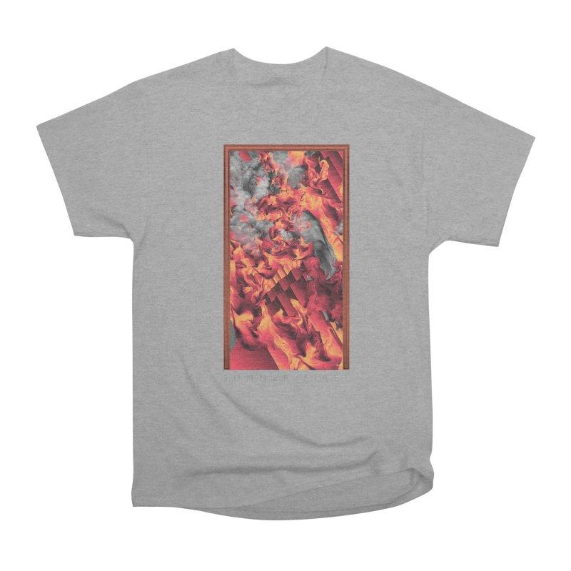 SUMMER FIRES Men's Heavyweight T-Shirt by mu's Artist Shop