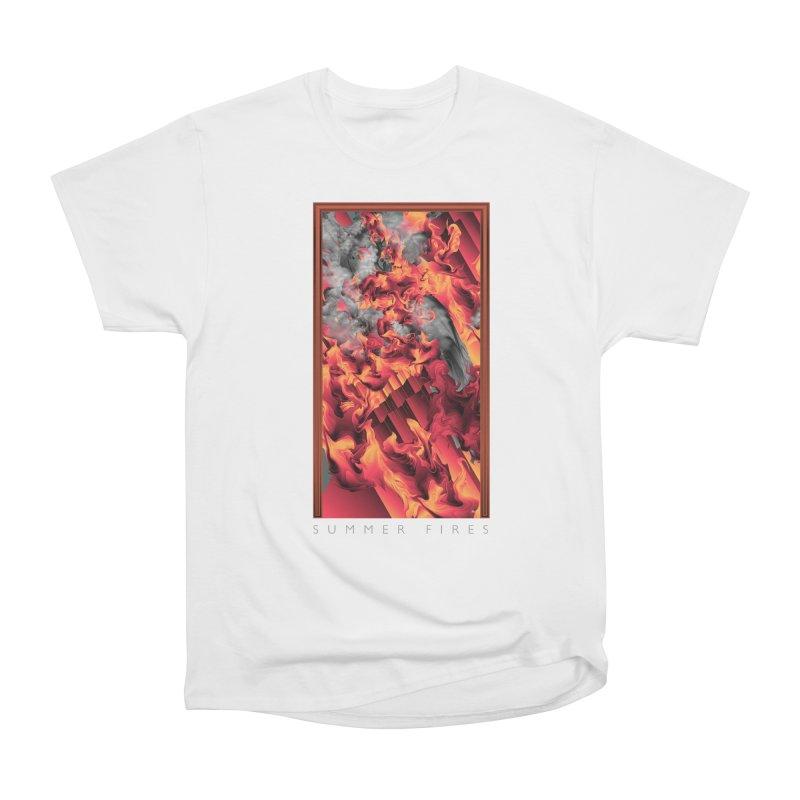 SUMMER FIRES Women's Classic Unisex T-Shirt by mu's Artist Shop
