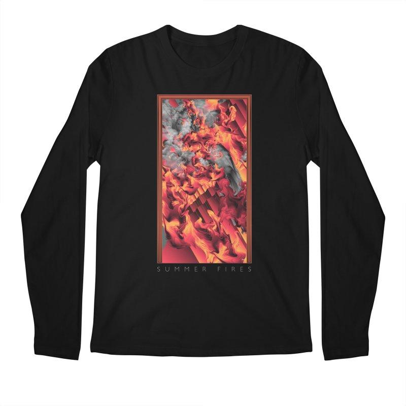 SUMMER FIRES Men's Longsleeve T-Shirt by mu's Artist Shop