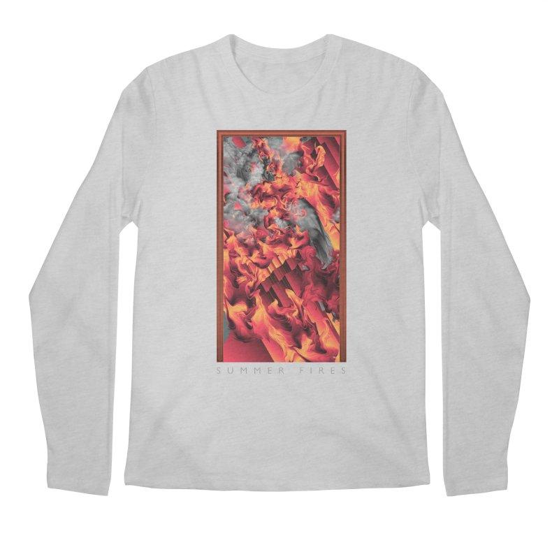 SUMMER FIRES Men's Regular Longsleeve T-Shirt by mu's Artist Shop