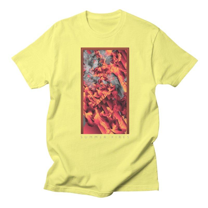 SUMMER FIRES Women's Unisex T-Shirt by mu's Artist Shop
