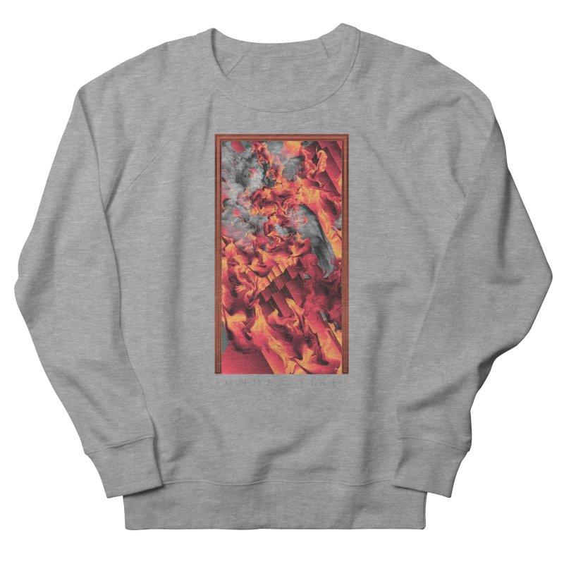 SUMMER FIRES Men's French Terry Sweatshirt by mu's Artist Shop