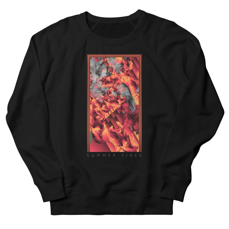 SUMMER FIRES Men's Sweatshirt by mu's Artist Shop