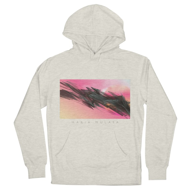 MARIA MULATA Women's French Terry Pullover Hoody by mu's Artist Shop