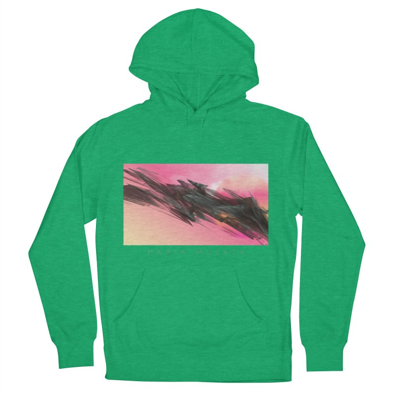 MARIA MULATA Men's French Terry Pullover Hoody by mu's Artist Shop