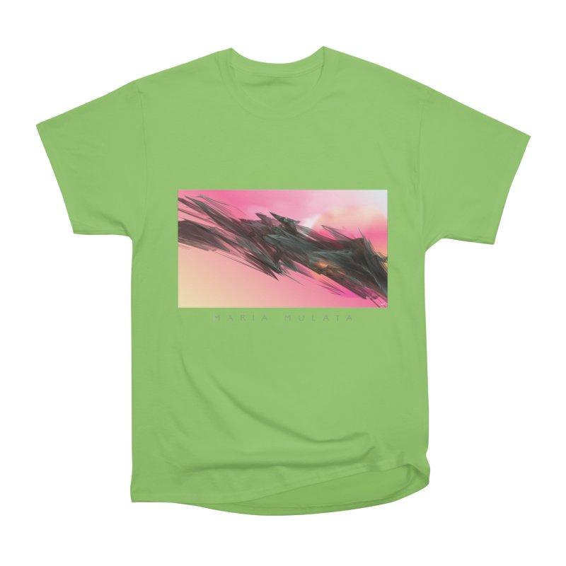 MARIA MULATA Men's Heavyweight T-Shirt by mu's Artist Shop