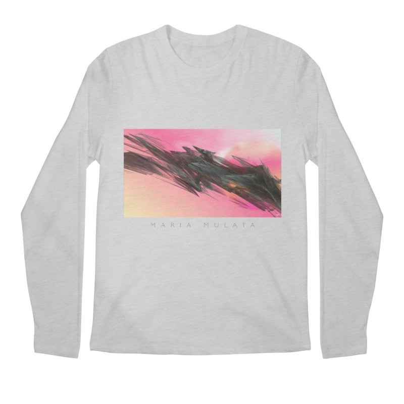 MARIA MULATA Men's Longsleeve T-Shirt by mu's Artist Shop