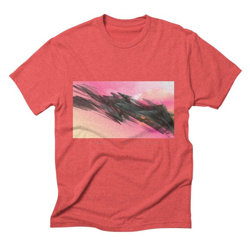 MARIA MULATA Men's Triblend T-Shirt by mu's Artist Shop
