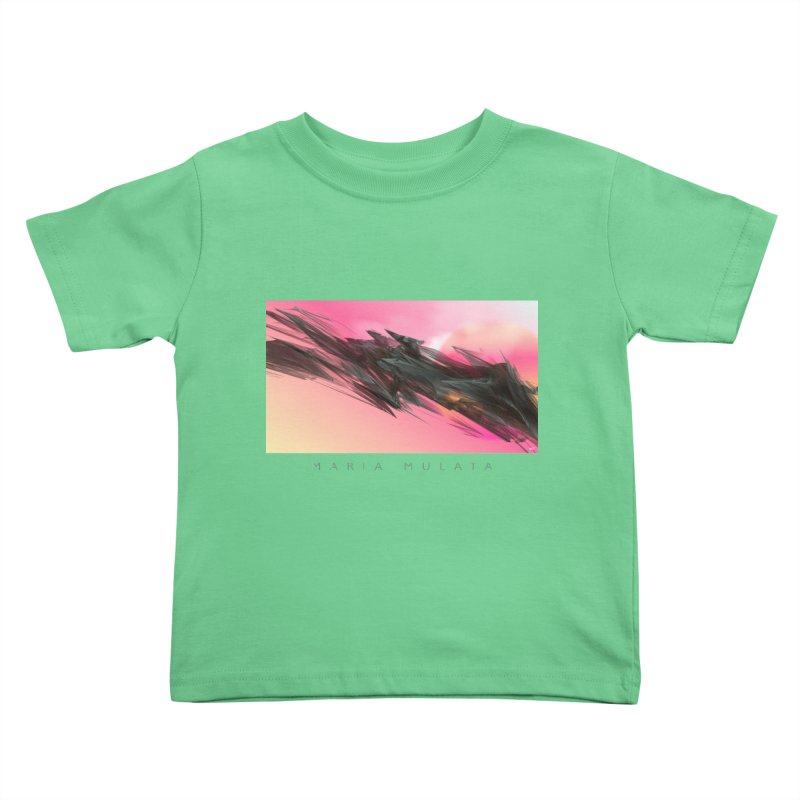 MARIA MULATA Kids Toddler T-Shirt by mu's Artist Shop