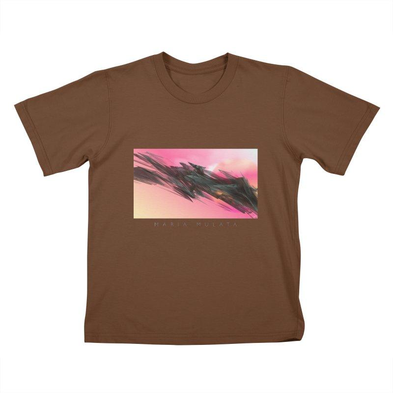 MARIA MULATA Kids T-Shirt by mu's Artist Shop