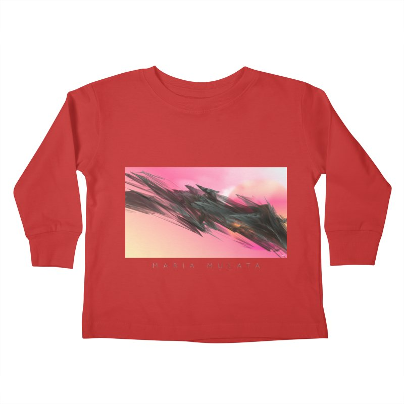 MARIA MULATA Kids Toddler Longsleeve T-Shirt by mu's Artist Shop