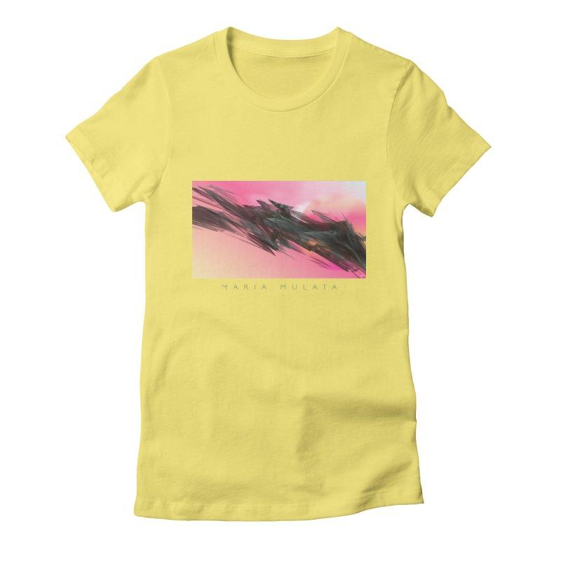 MARIA MULATA Women's Fitted T-Shirt by mu's Artist Shop