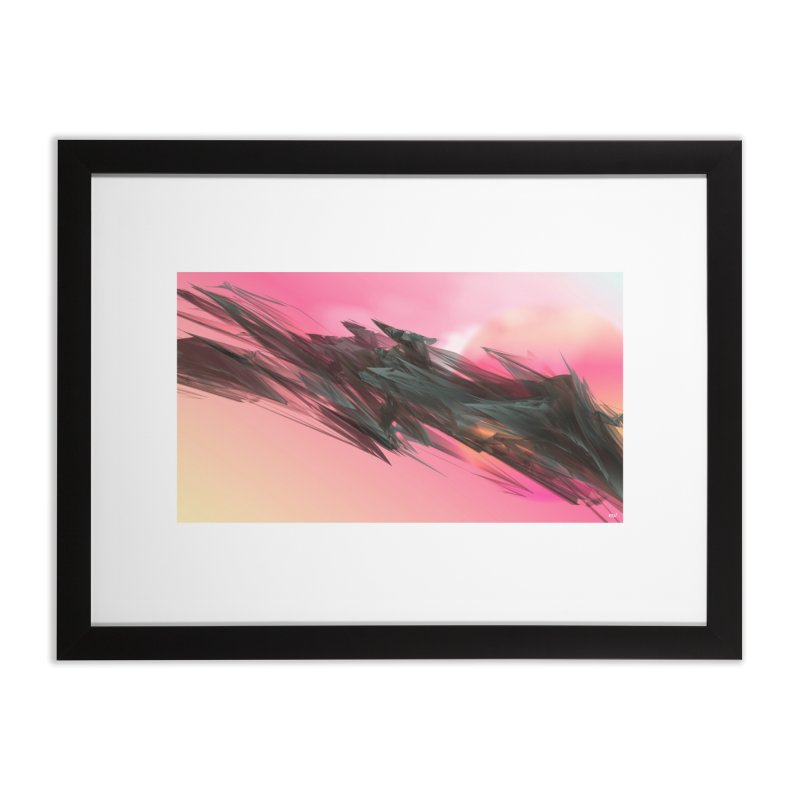 MARIA MULATA in Framed Fine Art Print Black by mu's Artist Shop