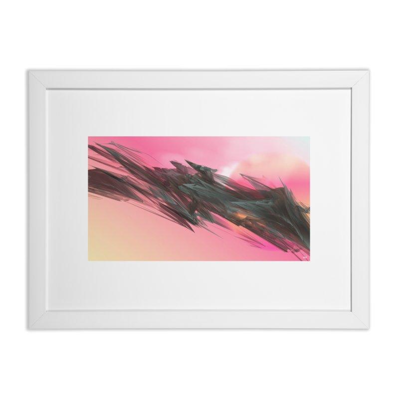 MARIA MULATA in Framed Fine Art Print White by mu's Artist Shop