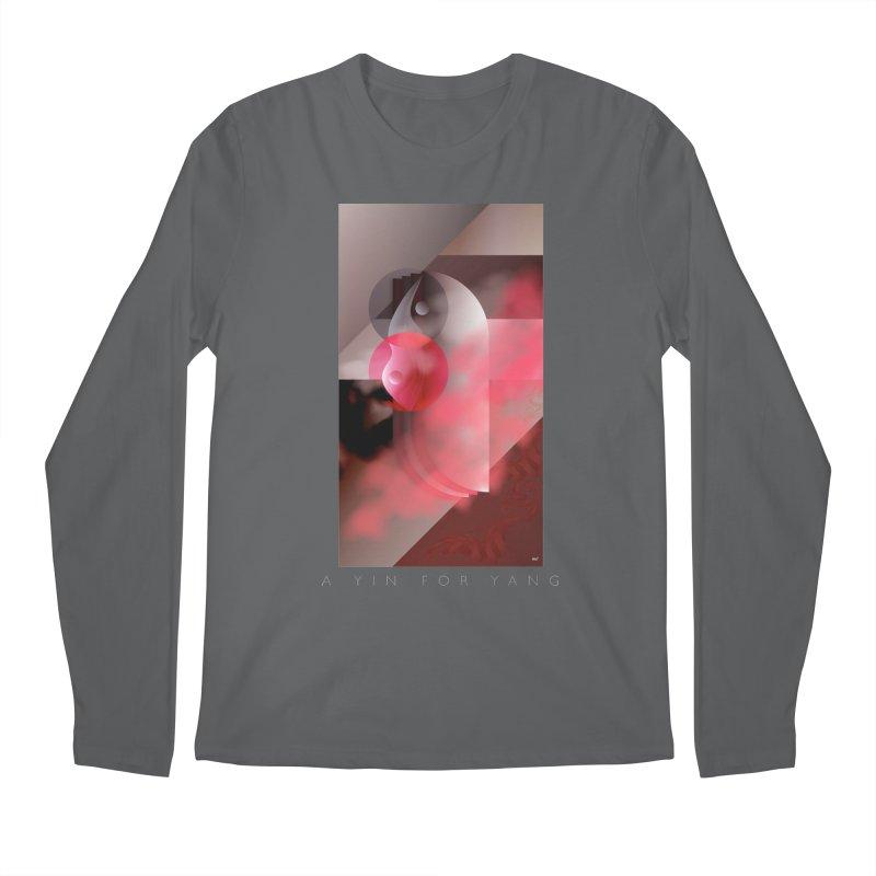 A YIN FOR YANG Men's Longsleeve T-Shirt by mu's Artist Shop