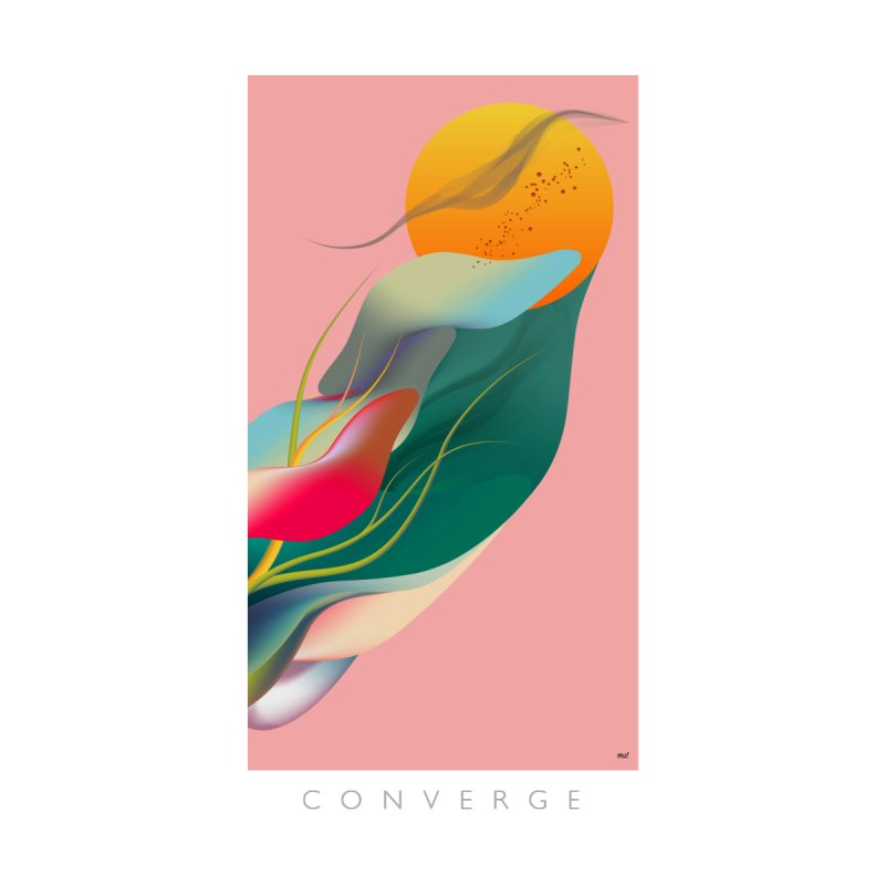 CONVERGE Home Framed Fine Art Print by mu's Artist Shop