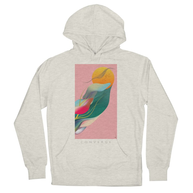 CONVERGE Women's French Terry Pullover Hoody by mu's Artist Shop