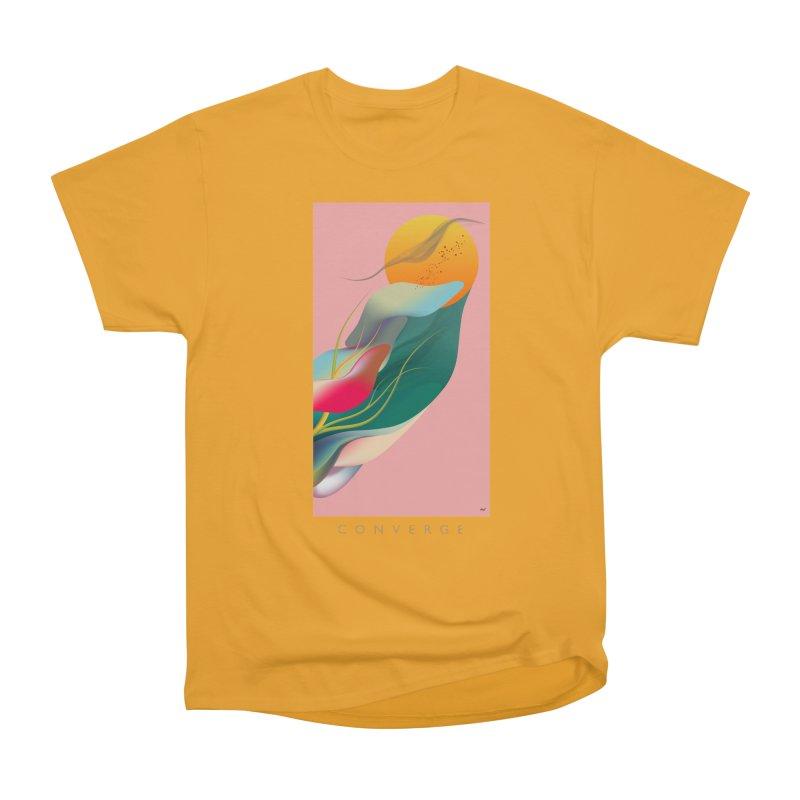 CONVERGE Men's Heavyweight T-Shirt by mu's Artist Shop