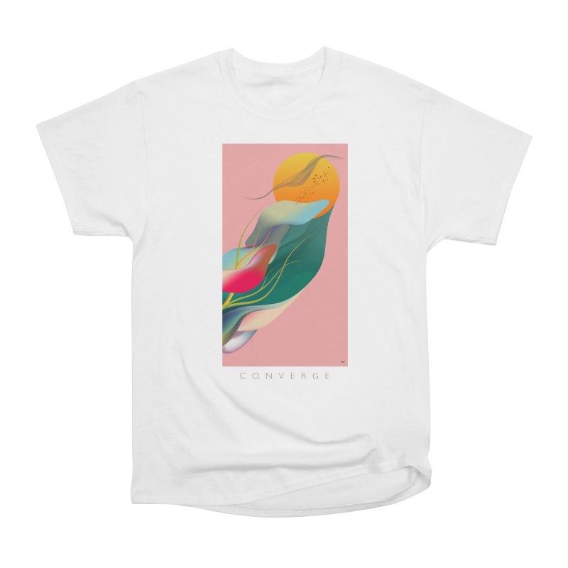 CONVERGE Women's Heavyweight Unisex T-Shirt by mu's Artist Shop