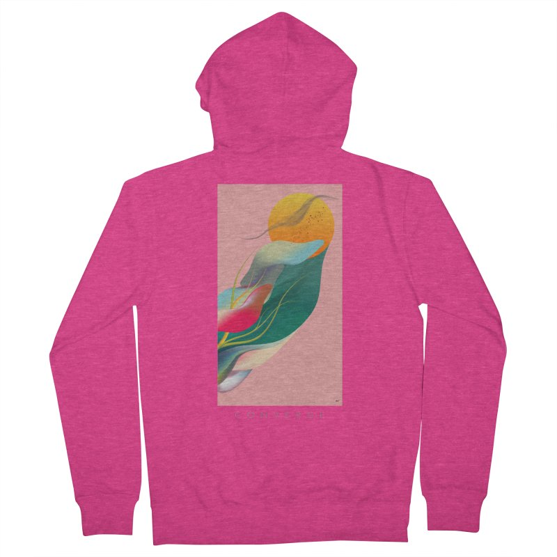 CONVERGE Women's French Terry Zip-Up Hoody by mu's Artist Shop