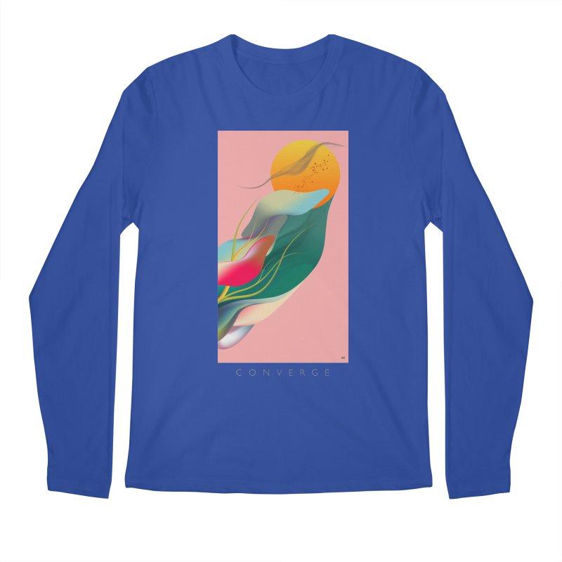 CONVERGE Men's Regular Longsleeve T-Shirt by mu's Artist Shop