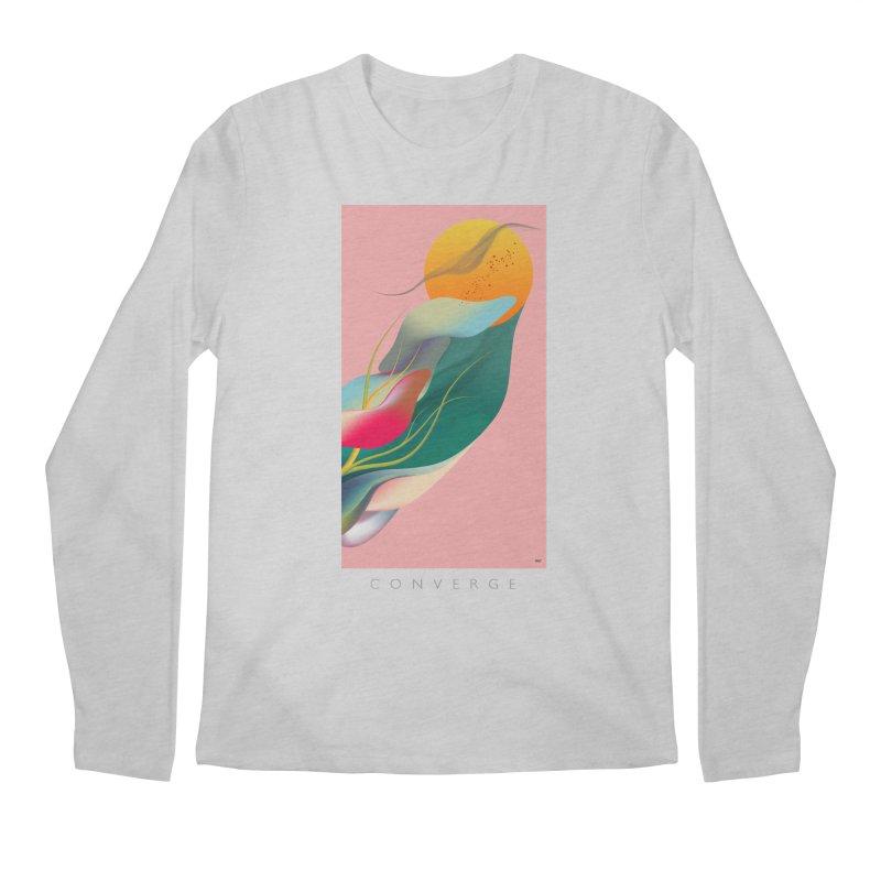 CONVERGE Men's Longsleeve T-Shirt by mu's Artist Shop