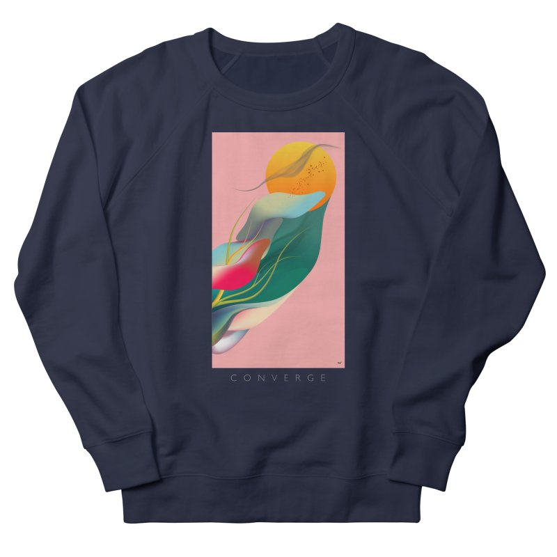 CONVERGE Women's Sweatshirt by mu's Artist Shop