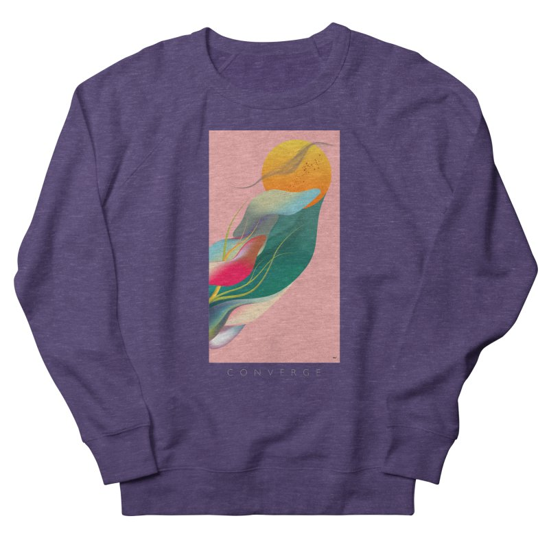 CONVERGE Men's Sweatshirt by mu's Artist Shop