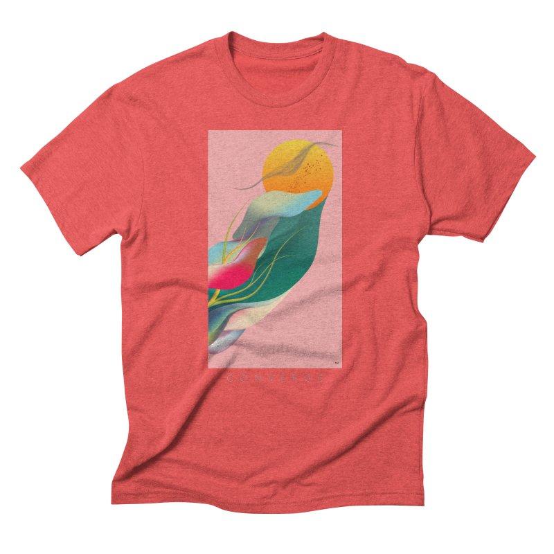 CONVERGE Men's Triblend T-Shirt by mu's Artist Shop